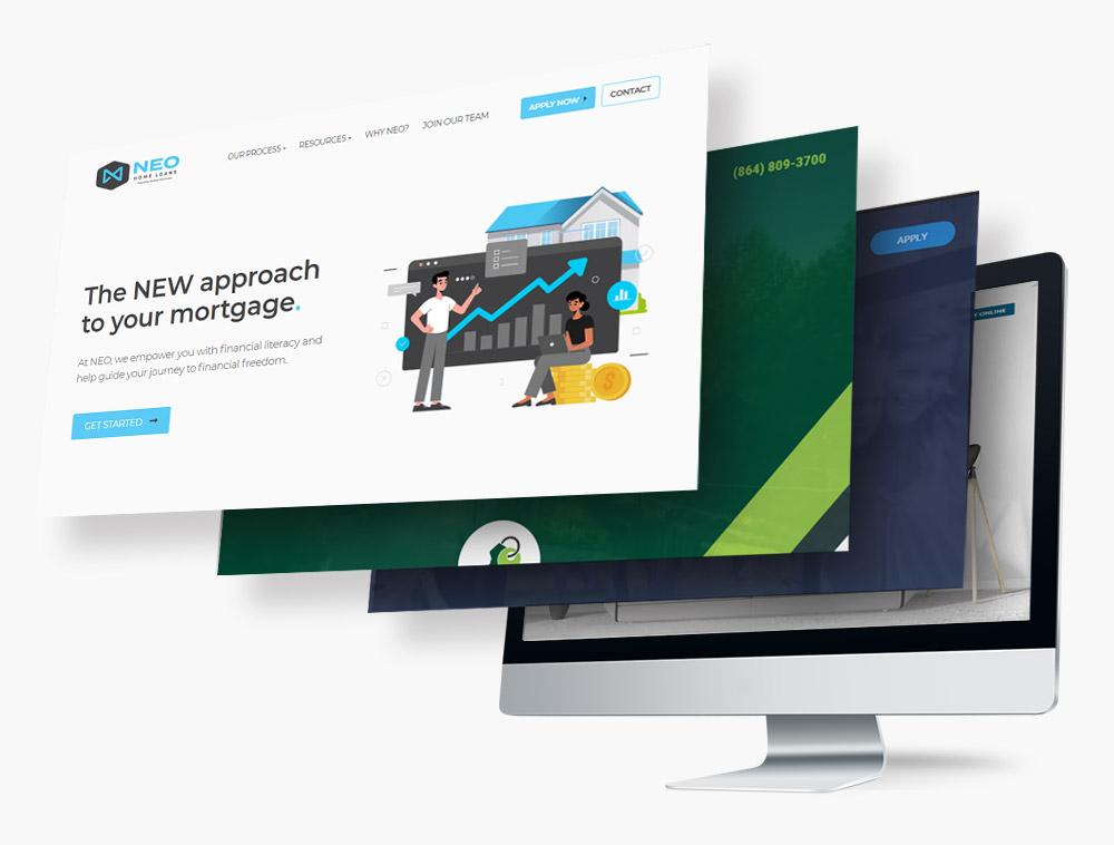 Custom Mortgage Websites